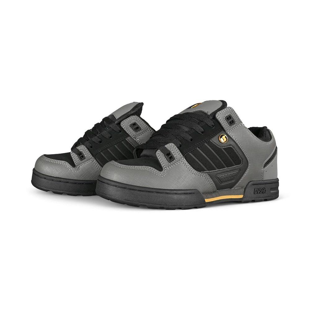 DVS Militia Snow Shoes - Charcoal / Black / Gold Nubuck