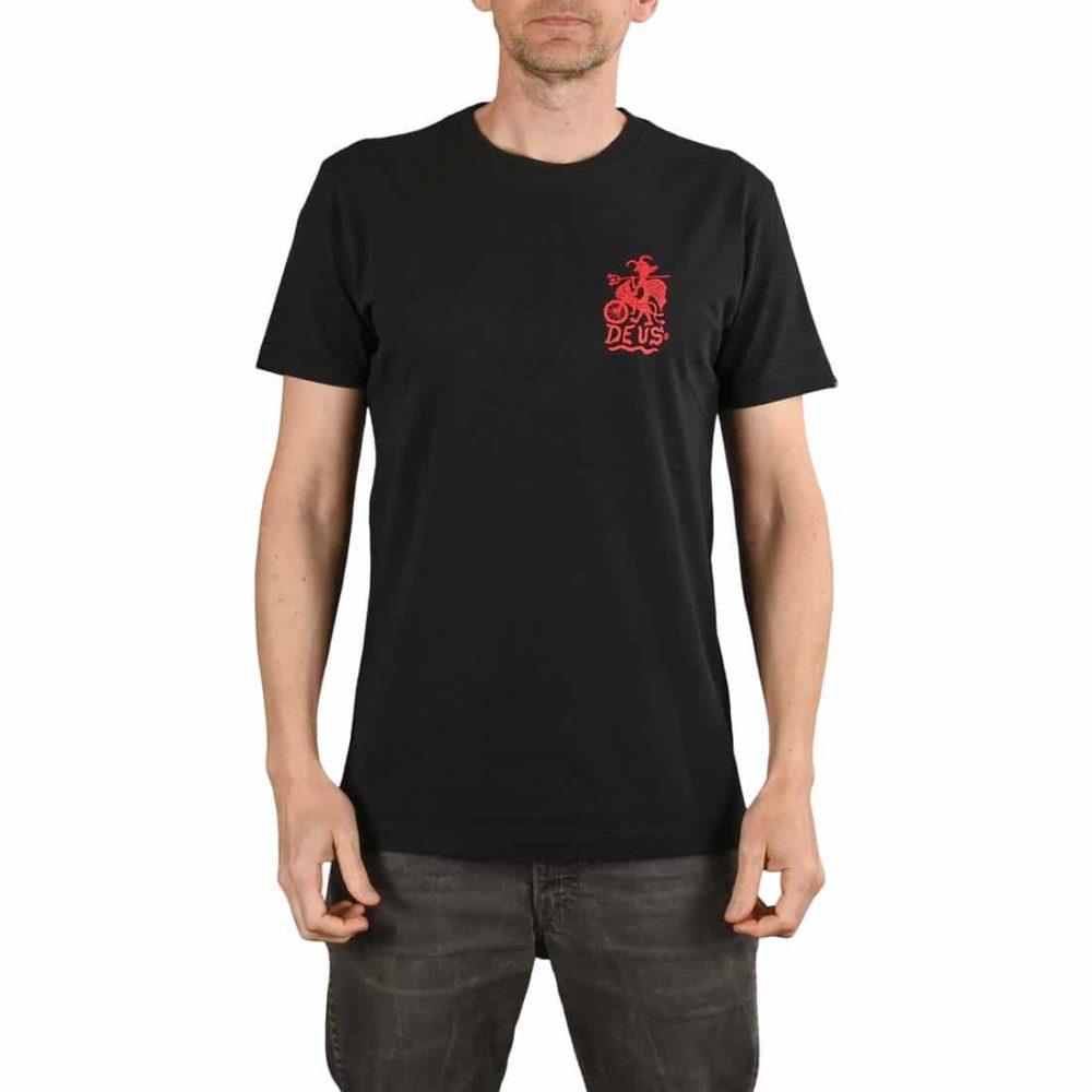 Deus Ex Machina Devil Tokyo S/S T-Shirt - Black