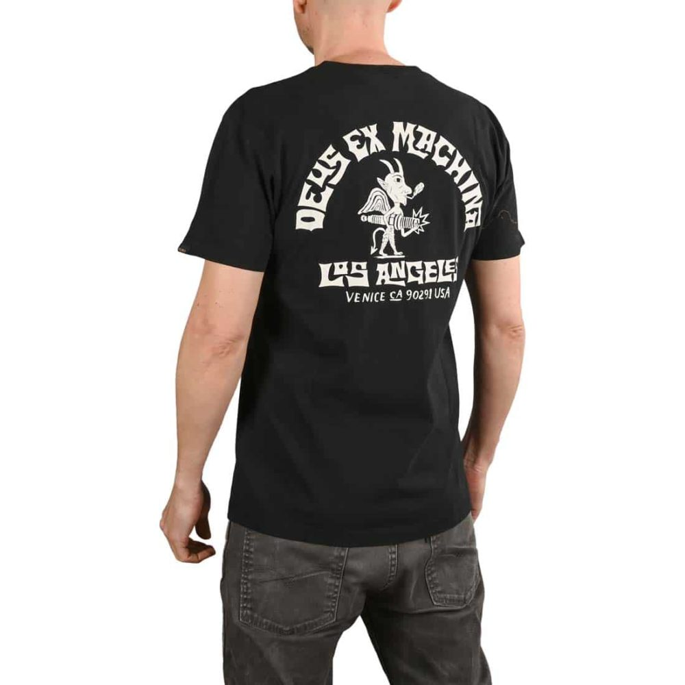 Deus Ex Machina Devil Venice S/S T-Shirt - Black