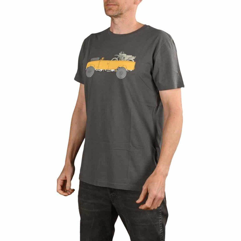 Deus Ex Machina Landie S/S T-Shirt - Grey
