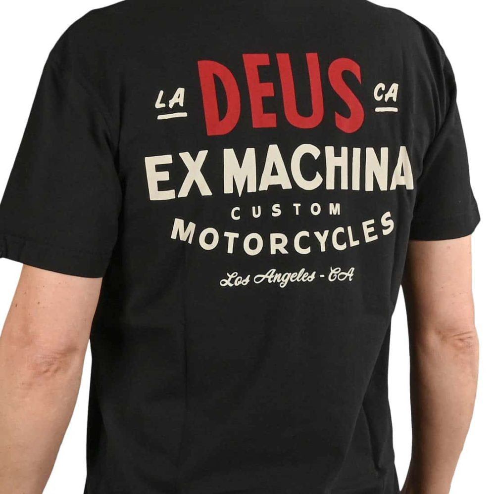 Deus Ex Machina Sentiments S/S T-Shirt - Black