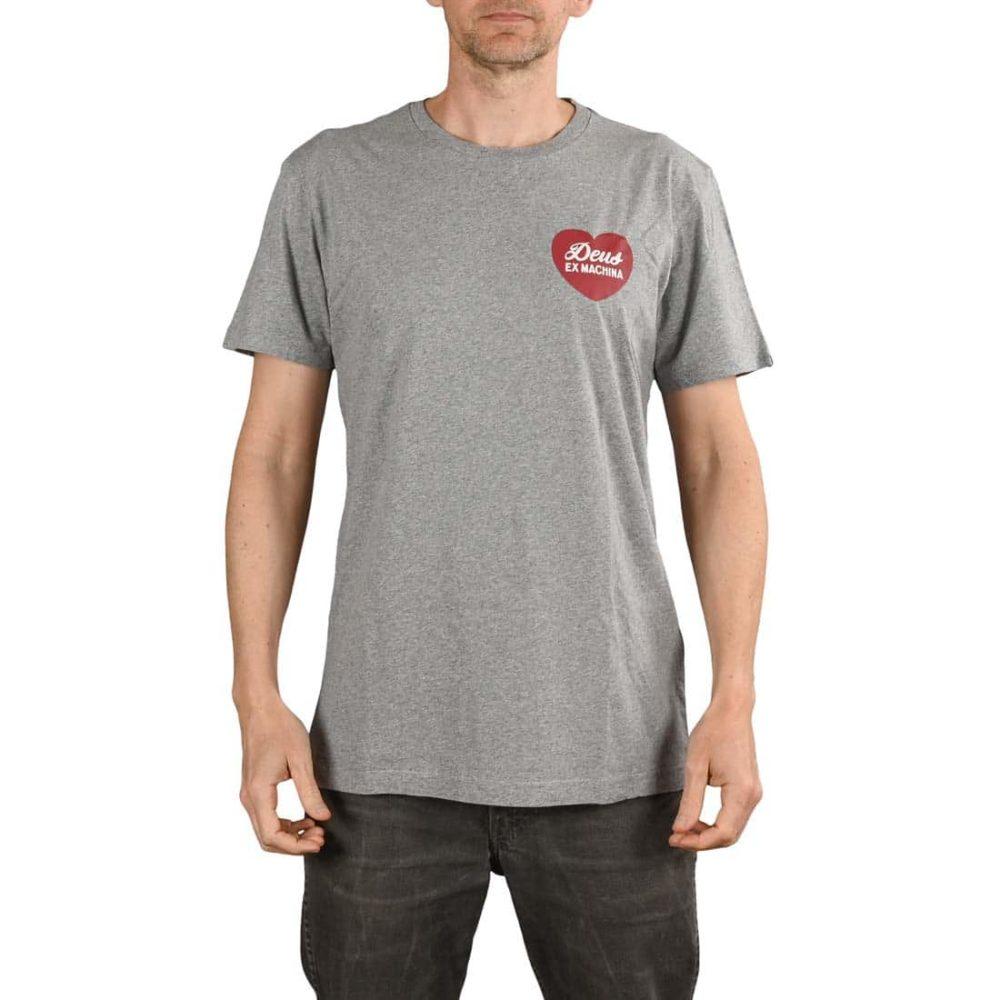 Deus Ex Machina Sentiments S/S T-Shirt - Grey Marle