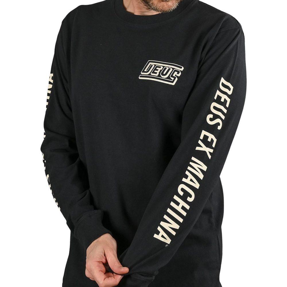 Deus Ex Machina Six Trix L/S T-Shirt - Phantom Black