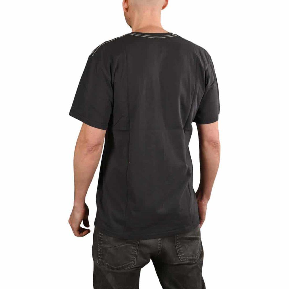 Enjoi Skateboards Flocked Premium S/S T-Shirt - Vintage Black
