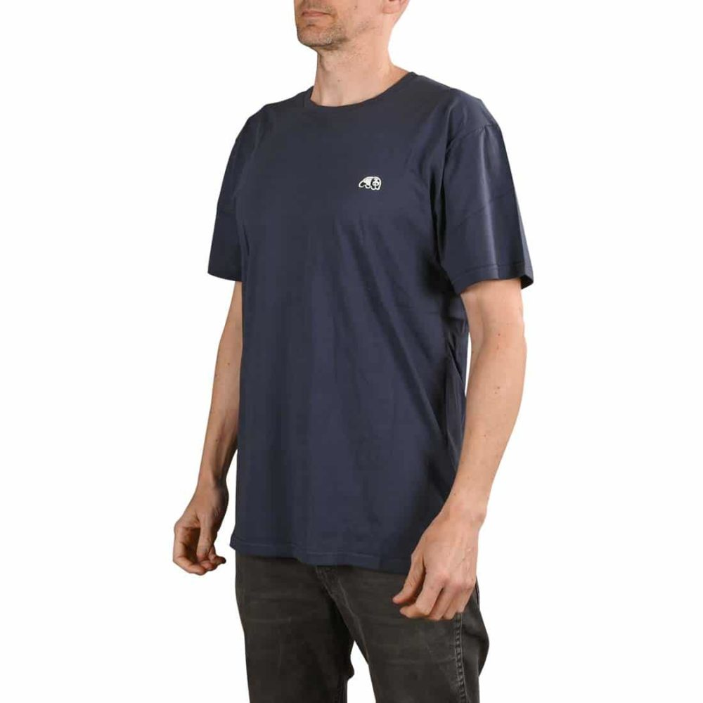 Enjoi Skateboards Premium Panda Patch S/S T-Shirt - Midnight Navy