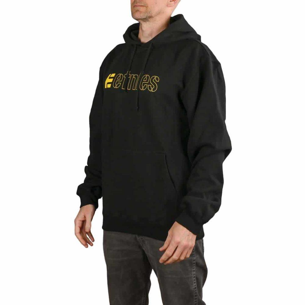 Etnies Ecorp Pullover Hoodie - Black / Yellow