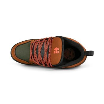 Etnies Agron High-Top Shoes - Brown / Black