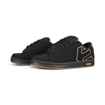 Etnies Kingpin 2 Skate Shoes - Black / Tan