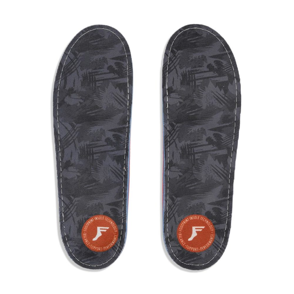 Footprint Gamechanger Orthotic Insoles - Dark Grey Camo