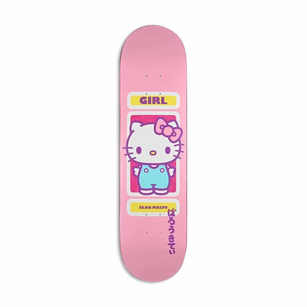 "Girl Sanrio 60th Anniversary Sean Malto 8"" Skateboard Deck"