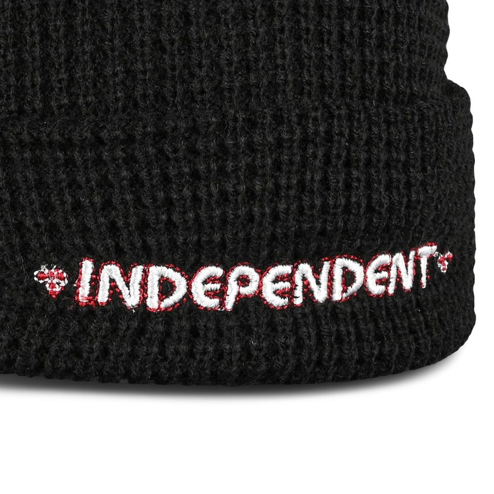 Independent Bar Beanie Hat - Black