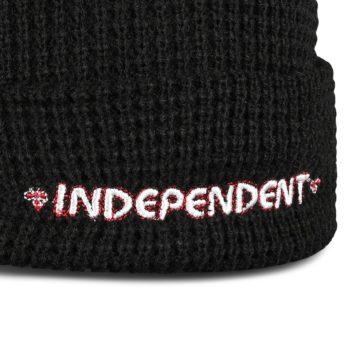 Independent Bar Beanie Hat - Black