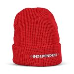 Independent Bar Beanie Hat - Cardinal Red