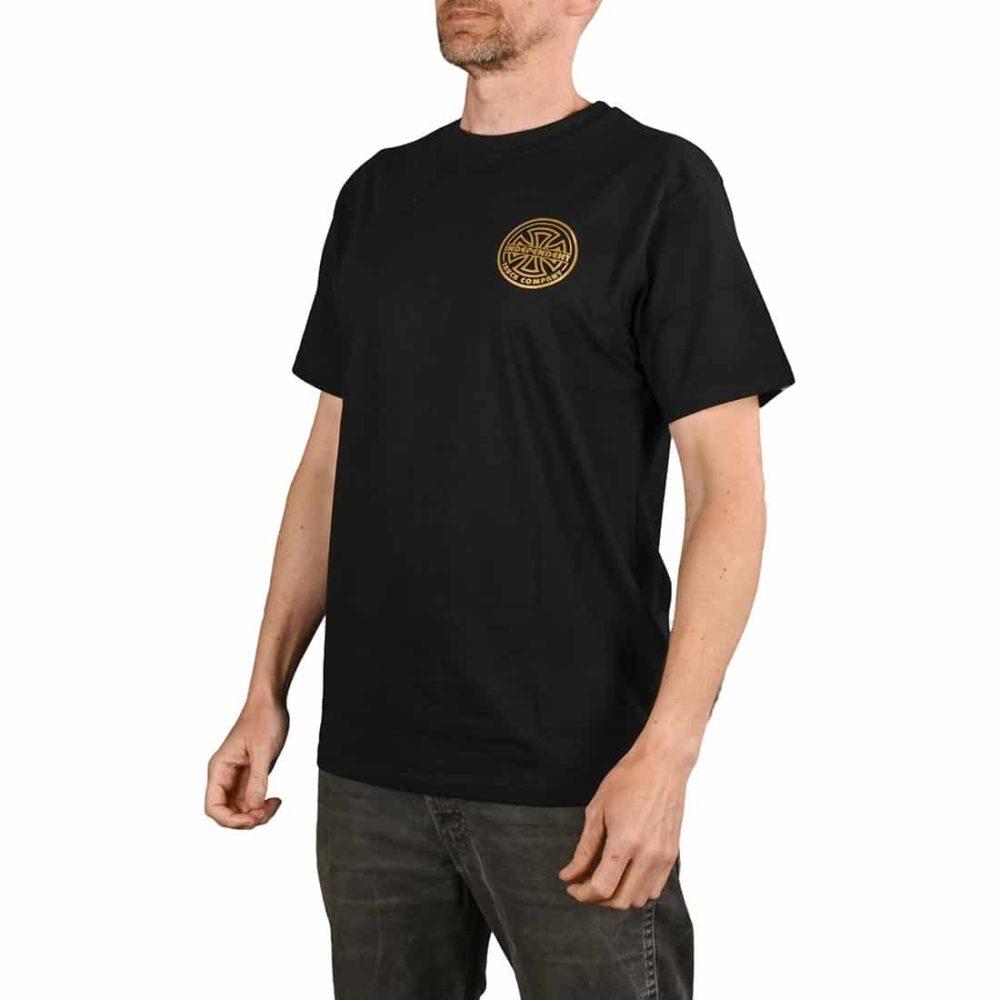 Independent Bauhaus Bold S/S T-Shirt - Black