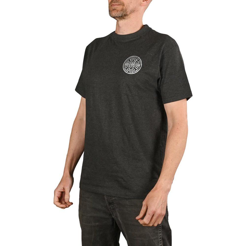 Independent Bauhaus Bold S/S T-Shirt - Charcoal Heather