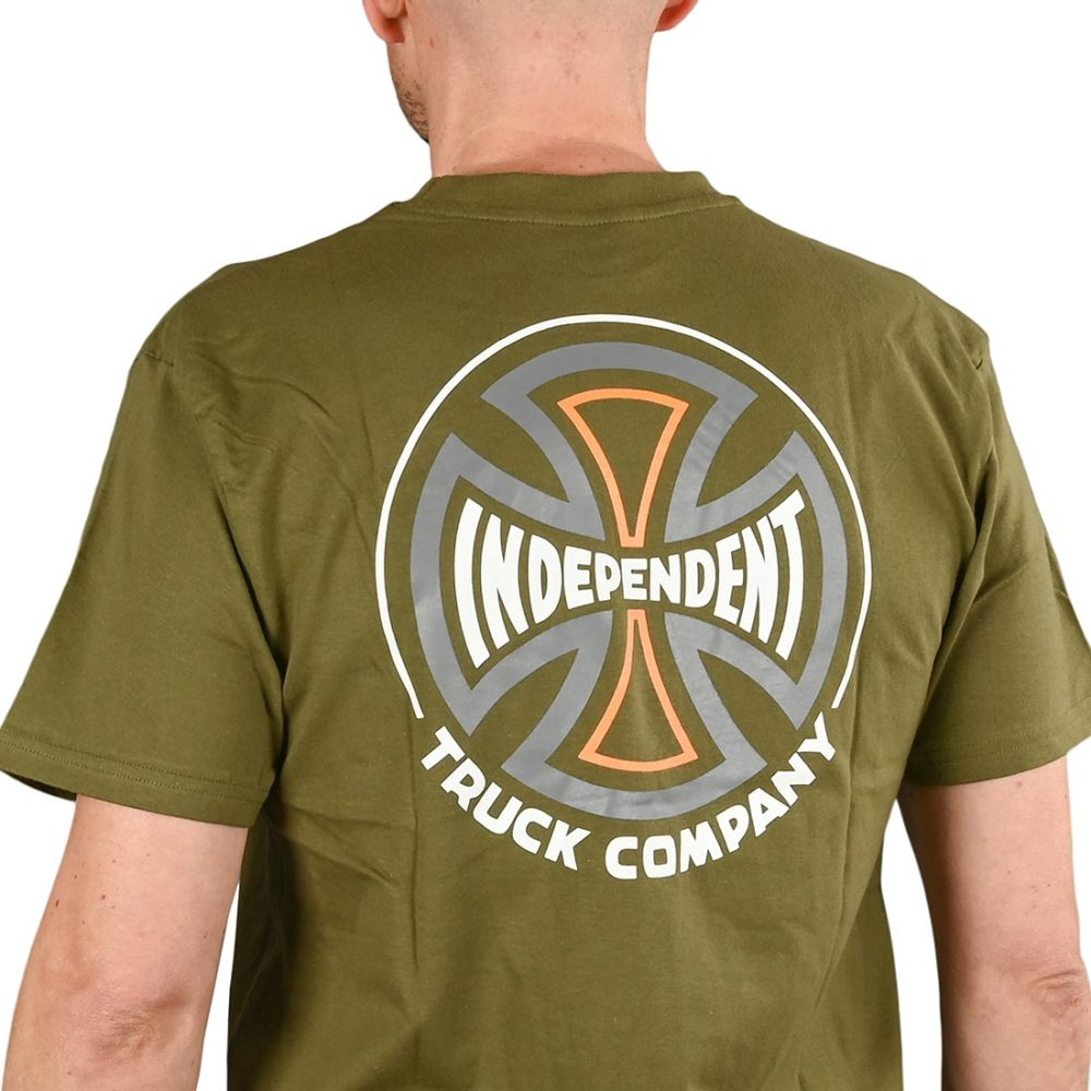 Independent Converge S/S T-Shirt - Army Green