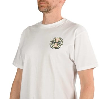 Independent Converge S/S T-Shirt - White