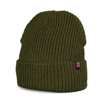 Independent Edge Beanie Hat - Army Green