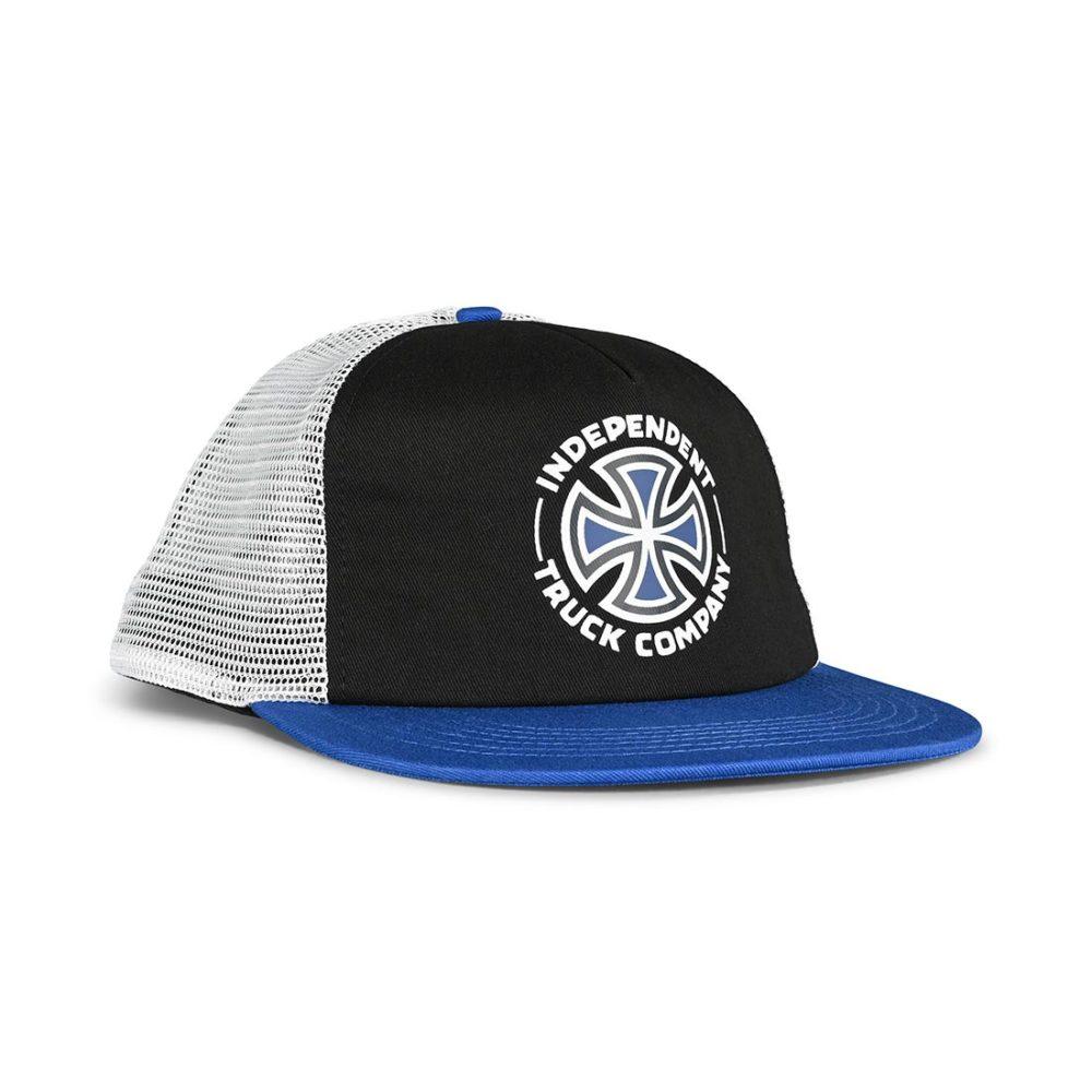 Independent Meld Mesh Back Cap - Black / Harbour Blue / White