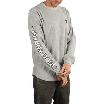 Independent Meld Thermal L/S T-Shirt - Light Grey