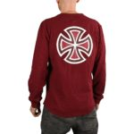 Independent Meld Thermal L/S T-Shirt - Oxblood