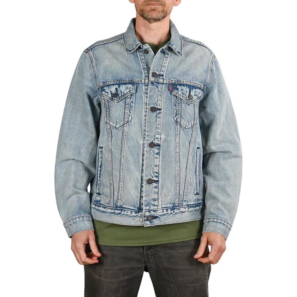 Levi's Skate Vintage Fit Trucker Denim Jacket - V Super Lite