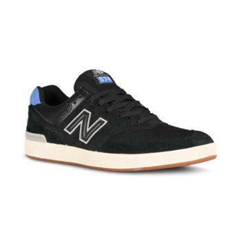 New Balance All Coasts 574 Shoes - Black / Royal