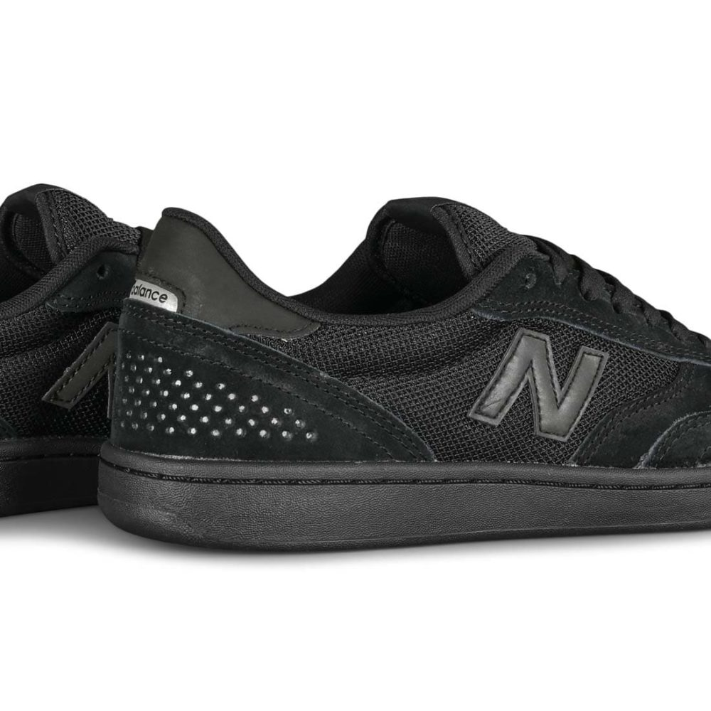 New Balance Numeric 440 Skate Shoes - Black / Black Suede