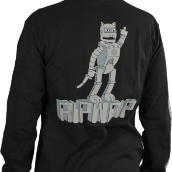 RIPNDIP Bionic Nerm L/S T-Shirt - Black