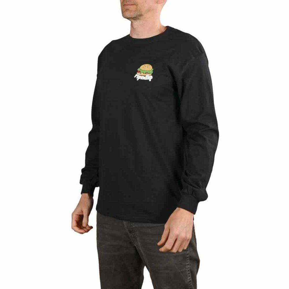 RIPNDIP Fat Hungry Baby L/S T-Shirt - Black