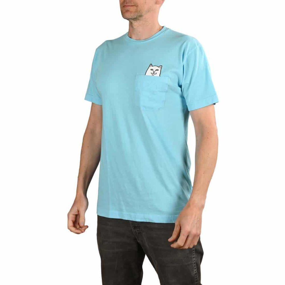 RIPNDIP Lord Nermal S/S Pocket T-Shirt - Baby Blue