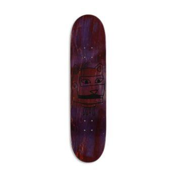 """RIPNDIP """"Bionic Nerm"""" Skateboard Deck - Black"""