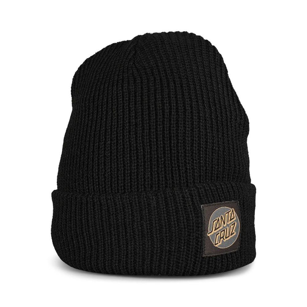 Santa Cruz Missing Dot Beanie Hat - Black