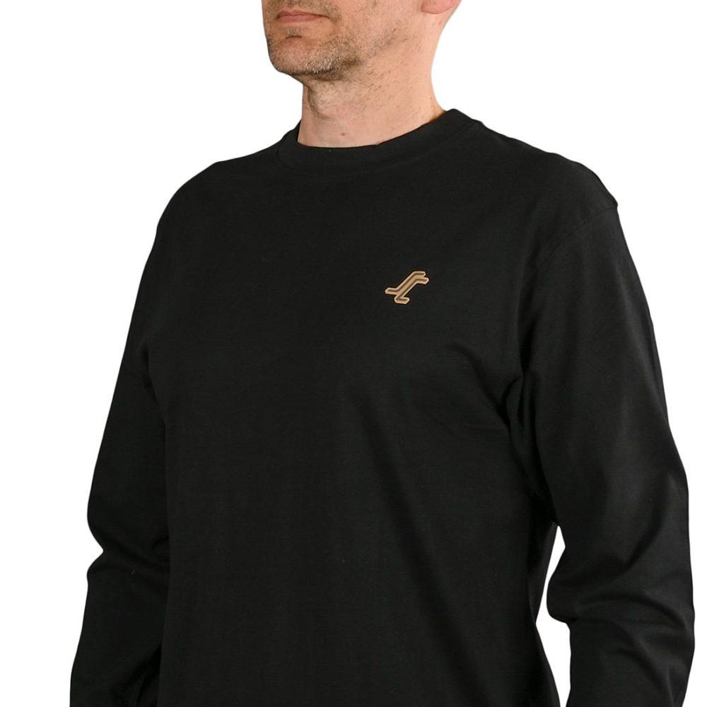 Santa Cruz Missing Dot L/S T-Shirt - Black