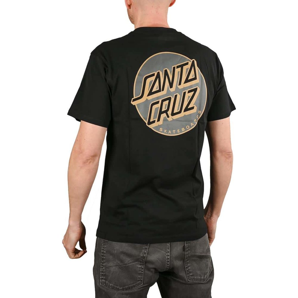 Santa Cruz Missing Dot S/S T-Shirt - Black