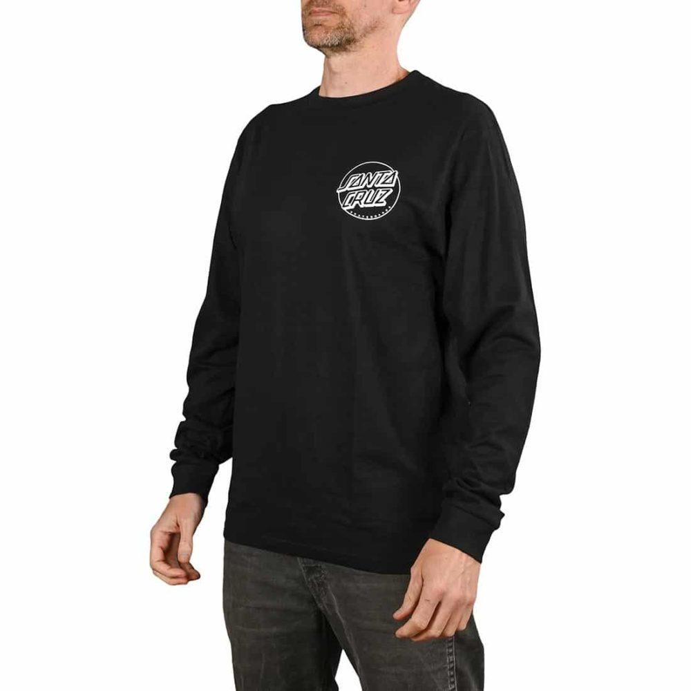 Santa Cruz O'Brien Reaper L/S T-Shirt - Black