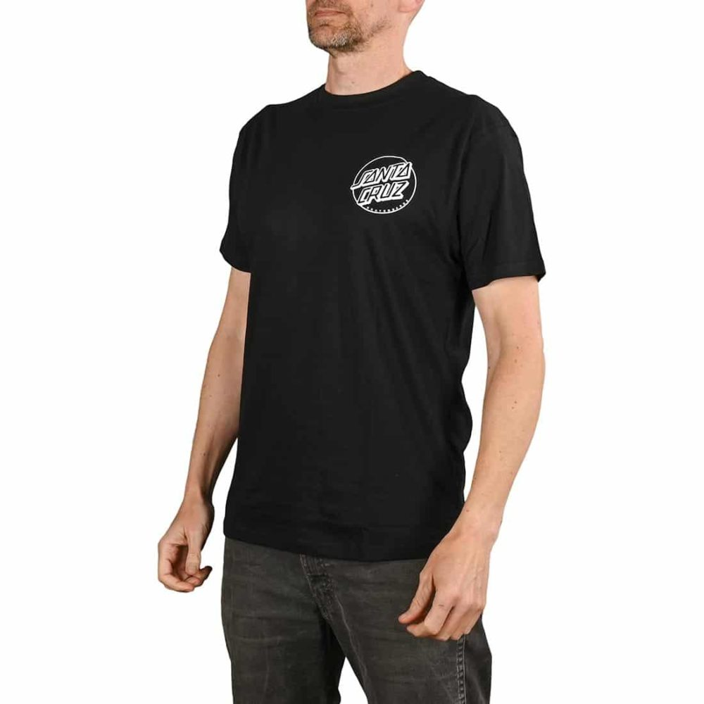 Santa Cruz O'Brien Reaper S/S T-Shirt - Black