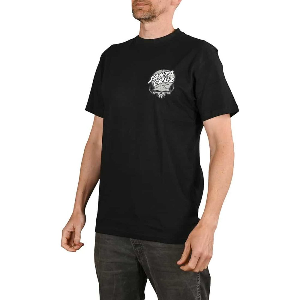 Santa Cruz O'Brien Skull S/S T-Shirt - Black