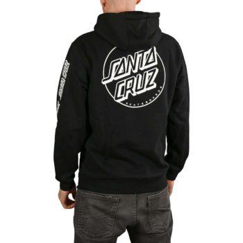 Santa Cruz Opus Dot Sleeves Pullover Hoodie - Black