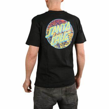 Santa Cruz Roskopp Dot S/S T-Shirt - Black