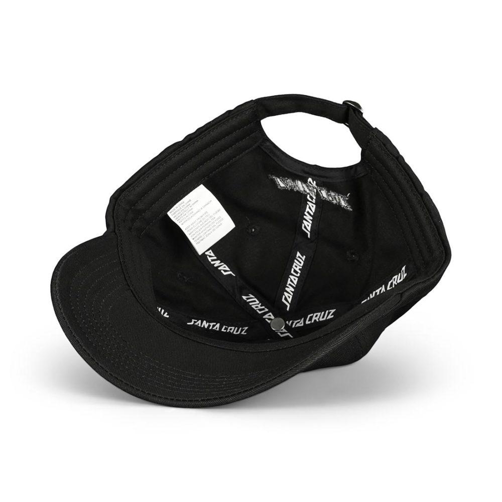 Santa Cruz Screaming Mini Hand Strapback Cap - Black