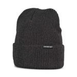 Supereight Supply Co Horizontal Beanie Hat - Dark Grey