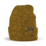 Supereight Supply Co Horizontal Beanie Hat - Yellow Heather