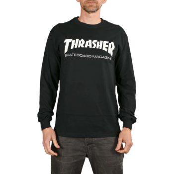 Thrasher Skate Mag L/S T-Shirt - Black