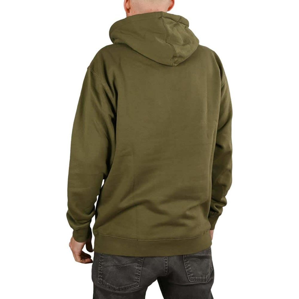 Thrasher Skate Mag Pullover Hoodie - Army