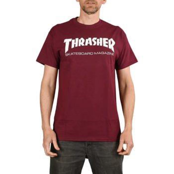 Thrasher Skate Mag S/S T-Shirt - Maroon