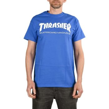 Thrasher Skate Mag S/S T-Shirt - Royal Blue