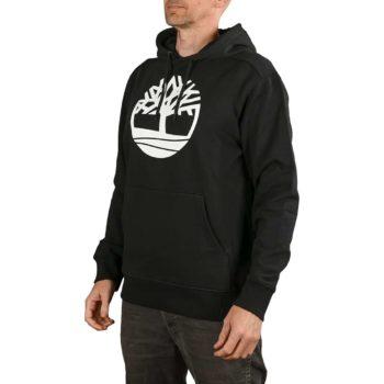 Timberland Core Logo Pullover Hoodie - Black / White