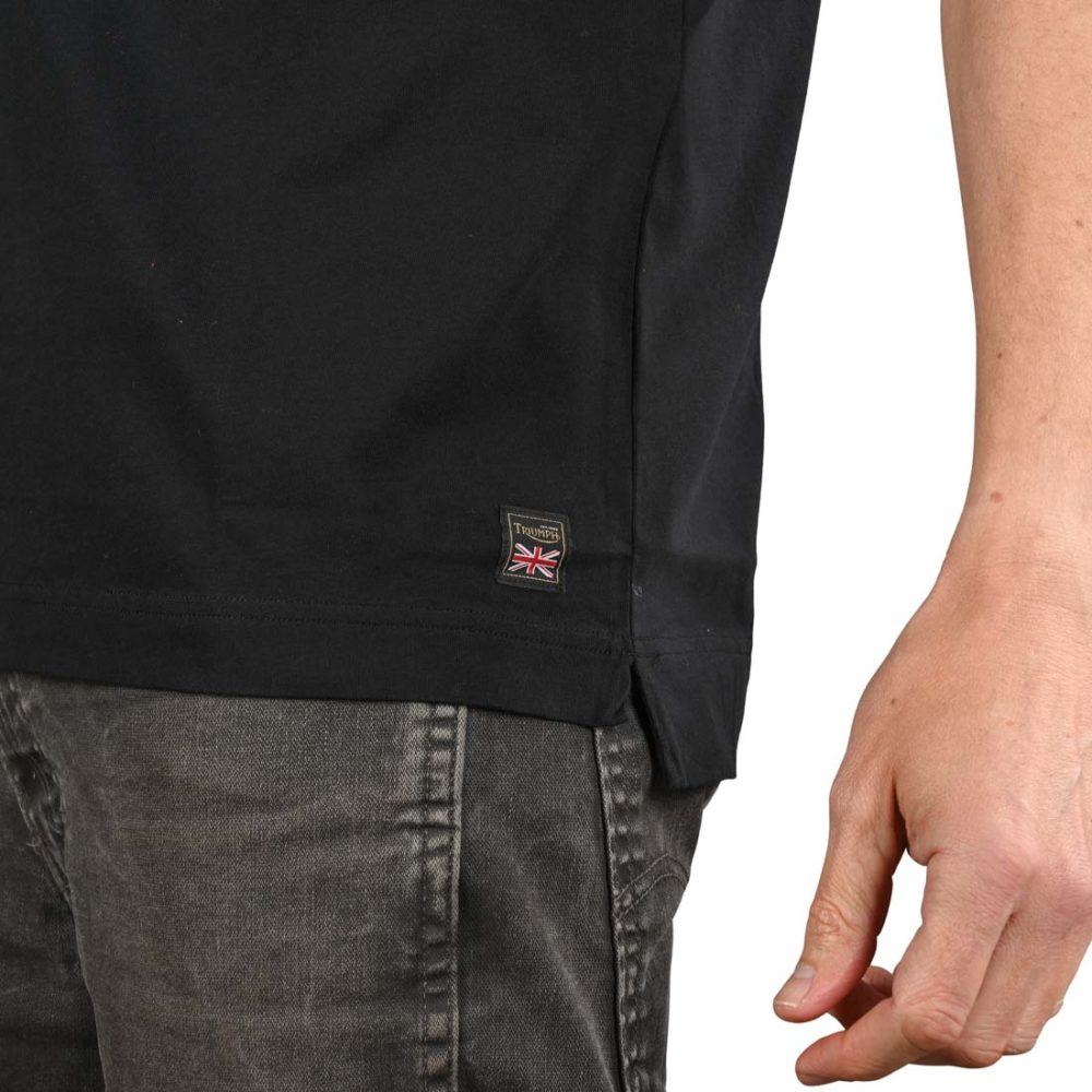 Triumph Adcote S/S T-Shirt - Black