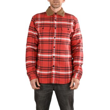 Triumph Adlington Lined L/S Shirt - Red / Black